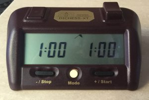Sistemco Chess Clock DICHESS XT
