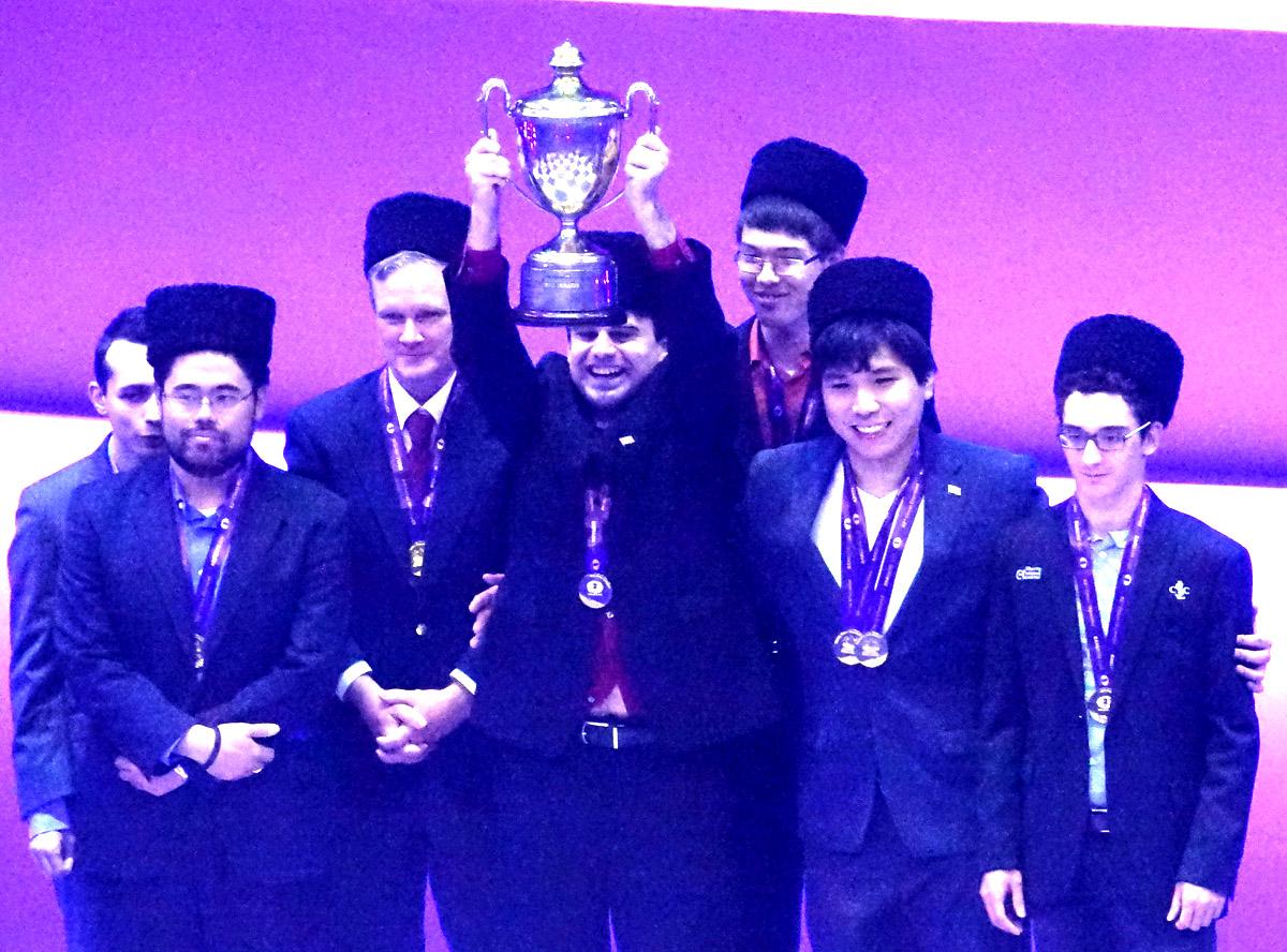 Baku 2016 42nd Chess Olympiad Winners