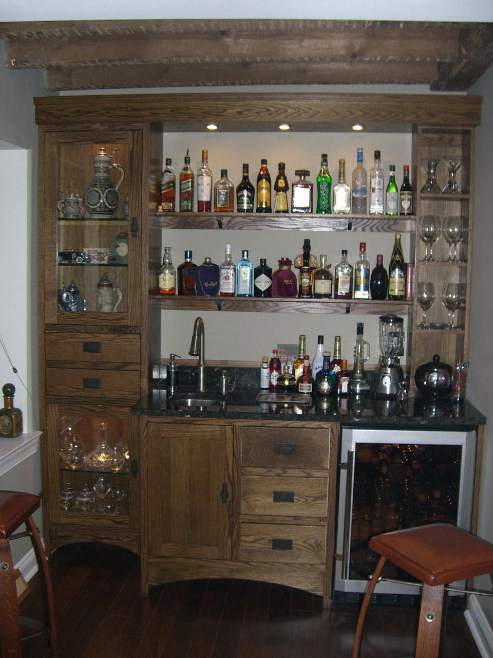 Peachy What Is A Dry Wet Bar Custom Cabinets Millwork Our Work Chesterfield Custom Homes By Spirk Brors What Is A Wet Bar Rough houzz 01 What Is A Wet Bar