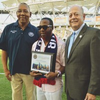Local leader given Hometown Hero award at PPL Park