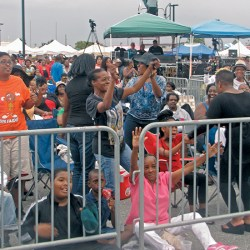 Chester's Riverfront Ramble always attracts tens of thousands of families along the Delaware River to see top national entertainers. This year the O'Jays, Vickie  Winans and Avery Sunshine are the headliners. File photo from a previous year's event.