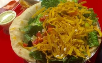 A Cafe Rio salad.