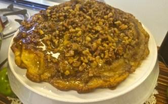 Topsy Turvy Apple Pie won the Utah State Fair's Mountainland Apple Contest for 2016.