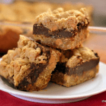 Butterscotch Oatmeal Fudge Bars