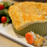 Chicken Pot Pies with Puff Pastry – American Homemade with McCormick