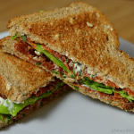 Slow Roasted Tomato BLTs with Basil Mayo
