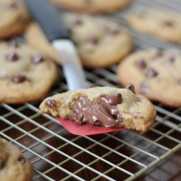 Nutella Stuffed Chocolate Chip Cookies #OXOGoodCookies