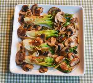 how to cook pak choi with garlic