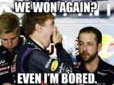vettel we won again