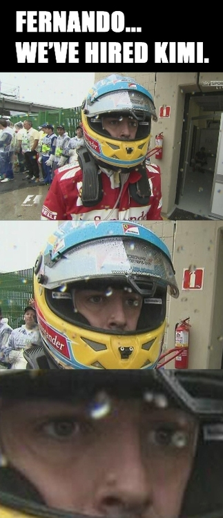 magistrale - fernando we've hired kimi