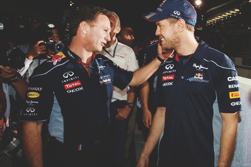 """""""Seb's been with Red Bull for 15 years as a junior driver and as a Formula 1 driver, so he's obviously been giving this a great deal of thought,"""" said Horner. """"He informed us last night and obviously had his reasoning behind that. I don't think he'd taken the decision lightly and was obviously very emotional about it. But if it's his desire to be somewhere else, then it's not right for us to stand in his path. """"We've achieved a great deal together and we've enjoyed a lot of success. We've had some great times – on and off track – and we'll look back on those with great fondness and affection. """"As of January 1st he'll be a competitor. He'll be a Ferrari driver."""""""