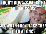 hulkenberg I do not always pass toro rosso but..
