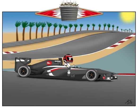 """""""4. Bahrain ...nice day for a drive. Not much else worth talking about."""