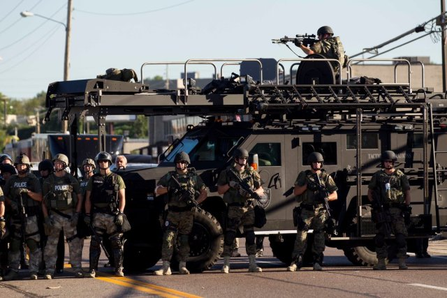 Ferguson, Missouri. 2015. (Photo via IVN).