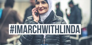 imarchwithlinda, linda sarsour, womens march
