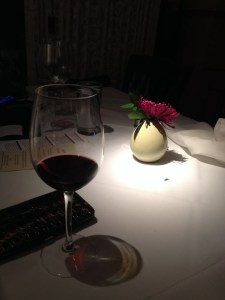 Trattoria 10 sets an elegant table