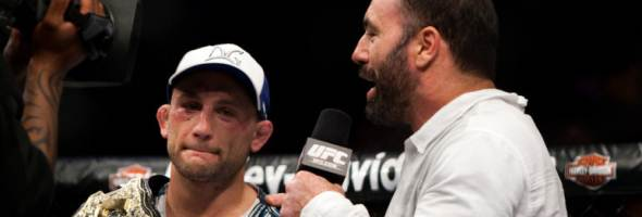 Frankie Edgar with Joe Rogan