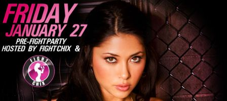 Arianny Celeste with Fight Chix in Chicago