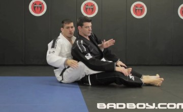 Demian Maia teaches the Body Triangle