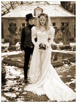 Small Of Gothic Wedding Dresses