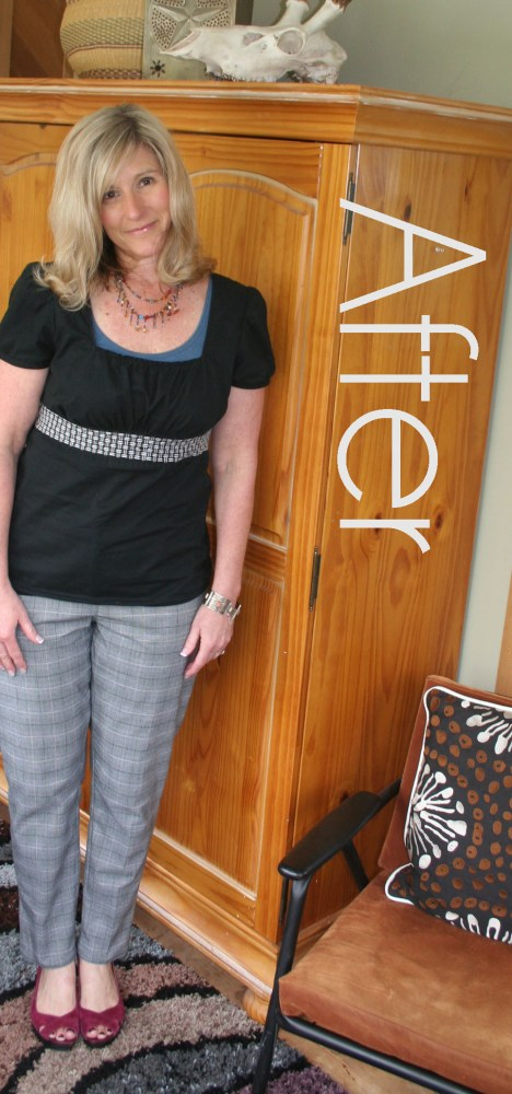 DIY Create Skinny Trousers from Wide Legs Tutorial (1/6)