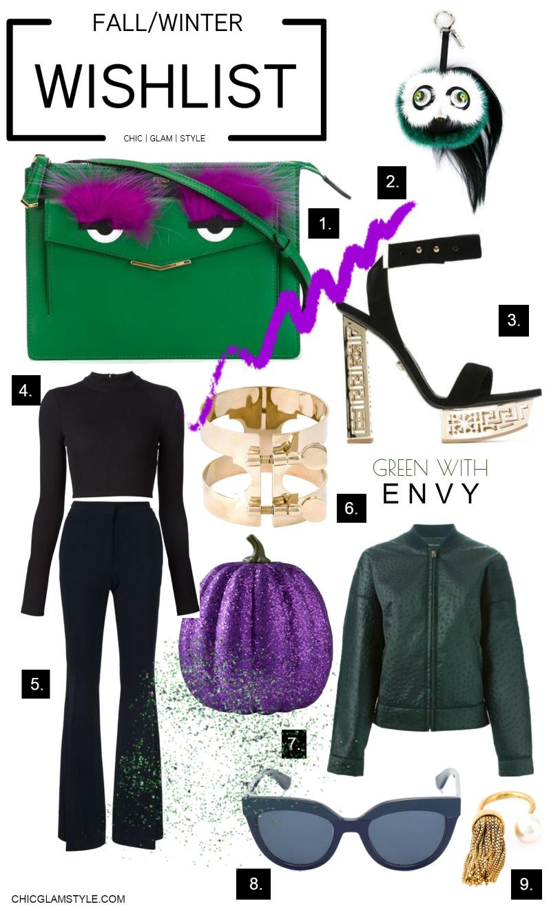 WishList-Green with envy