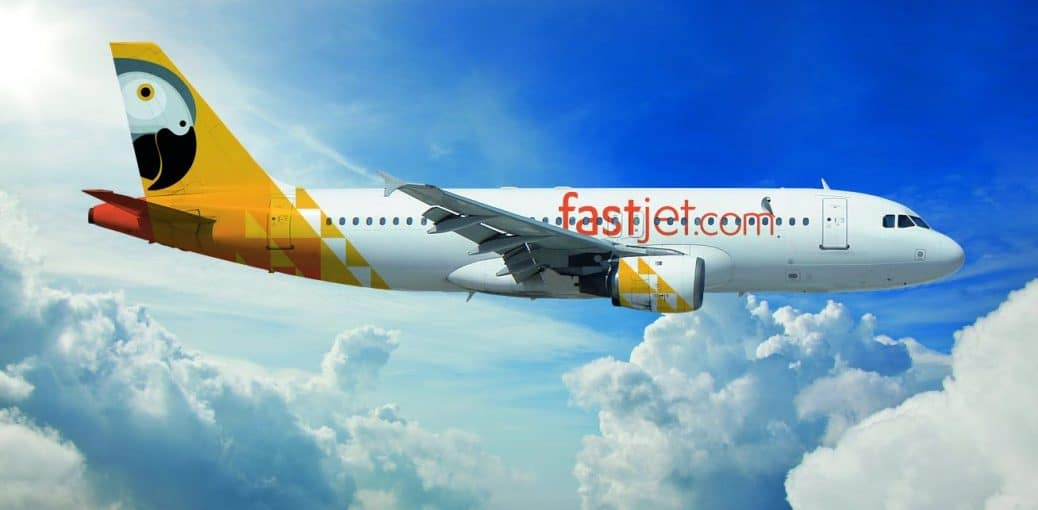Flying Fastjet from Dar-es-Salaam to Johannesburg