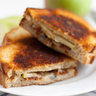 Grilled Apple, Bacon and Blue Cheese Sandwich