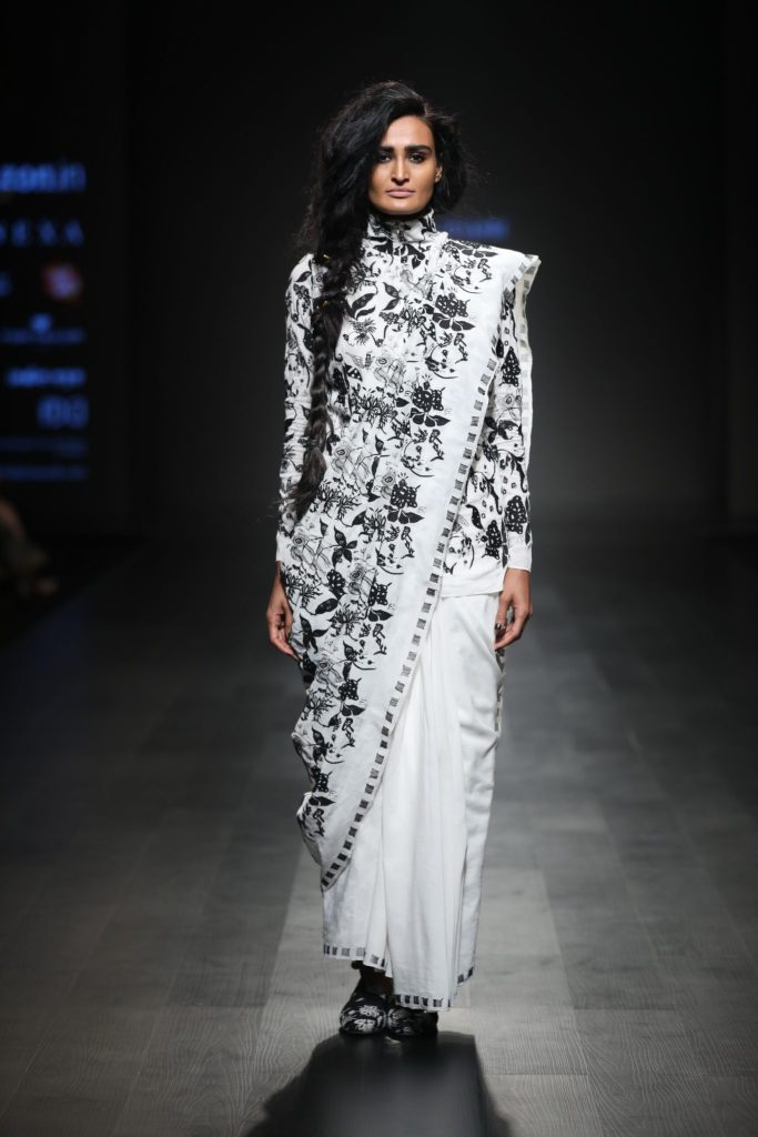 Abraham & Thakore showcased their collection at FDCI AIFW AW 2018 (13)