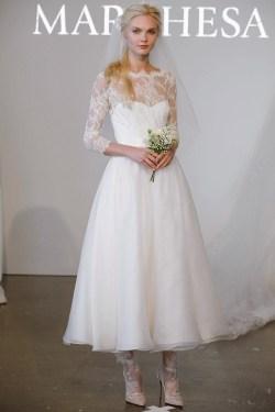 Decent Tea Length Wedding Dress From Spring 2015 Collection Utterly Tea Length Wedding Dresses Vintage Brides Tea Length Wedding Dress Belts Tea Length Wedding Dresses Blush