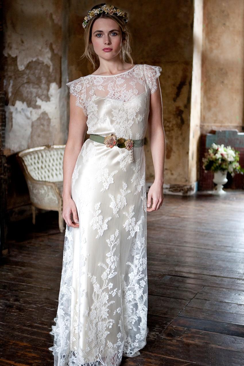 vintage inspired wedding dresses romantic wedding dresses Vintage Inspired Wedding Dresses from Sally Lacock