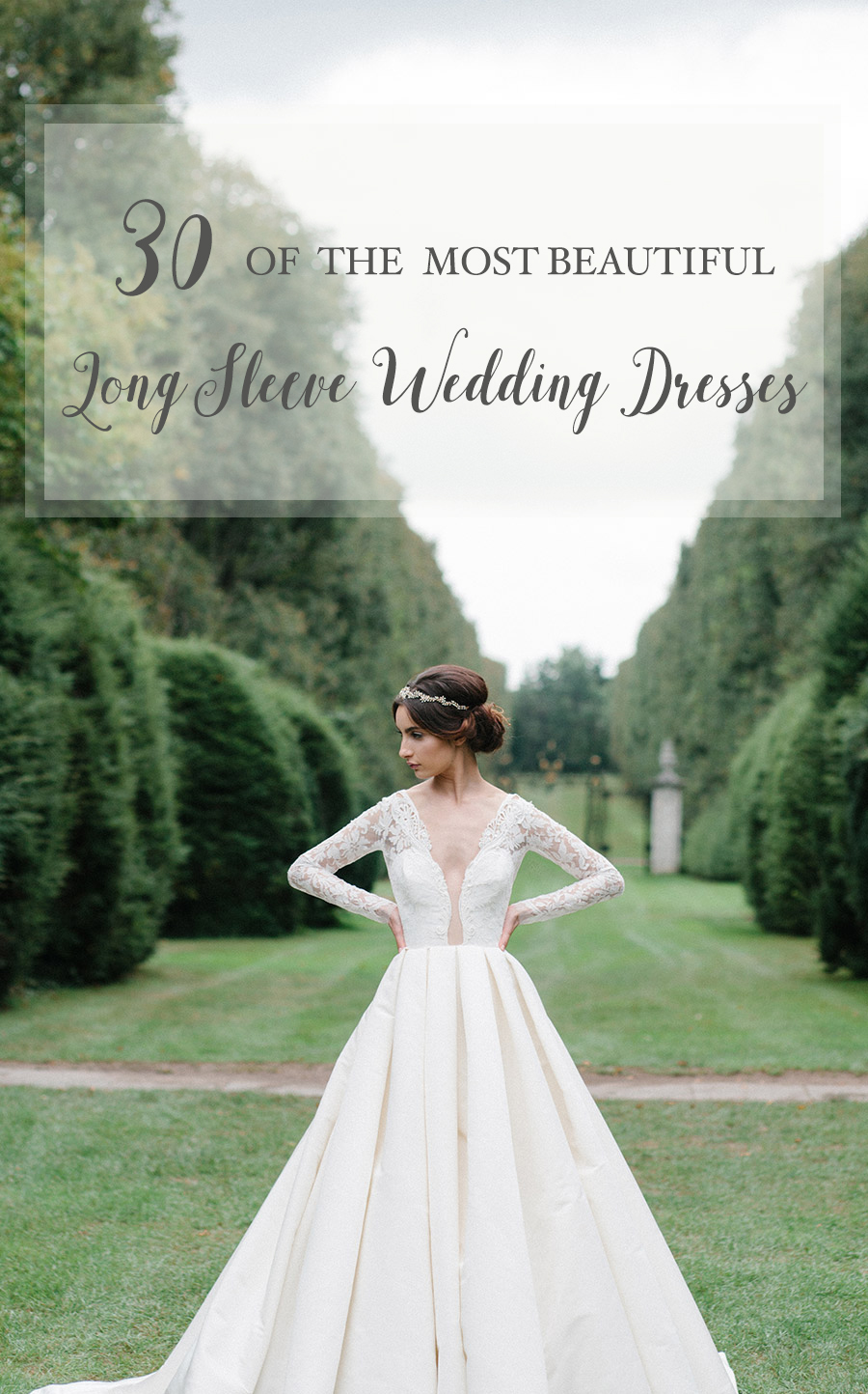 beautiful long sleeved wedding dresses sleeved wedding dress 30 of the most Beautiful Long Sleeve Wedding Dresses for