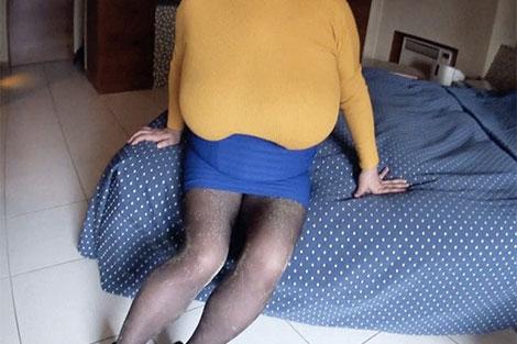 バスト138cmの超乳、ルリ子さん