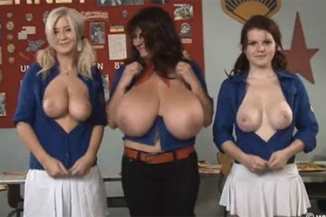 Milena先生だけ規格外の乳