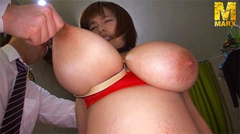 乳首を引っ張られる北嶋あんちゃん