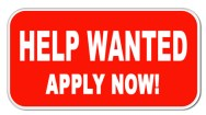 Help Wanted-Apply Now