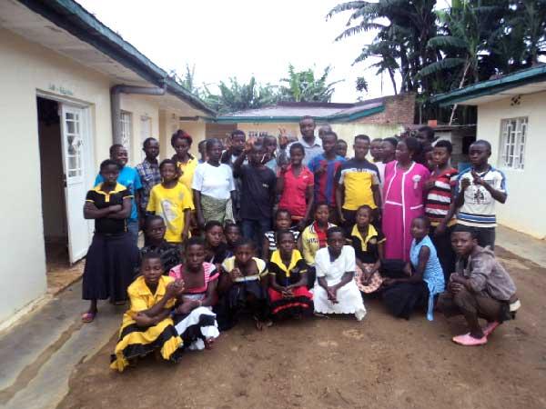 Club d'enfants de Mwenga
