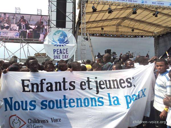 Journée de la paix à Goma, RDC