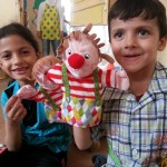 Pre-schoolers in Syria find joy through toys donated by IKEA