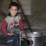At 6 years old, Syrian boy Abdullah has already a job