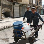 Voices from the Front Line – Water cuts for war-weary civilians in Syria's largest city of Aleppo
