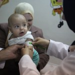 In wartime, displaced Syrian mothers commit to breastfeeding