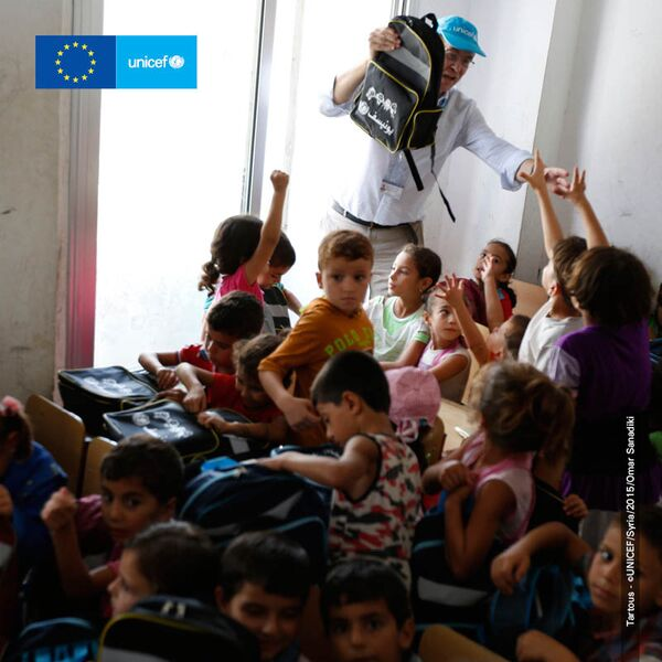Tartous - ©UNICEF/Syria/2015/Omar Sanadiki