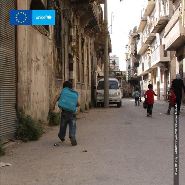 Homs Old City - ©UNICEF/Syria/2015/Shushan Mebrahtu