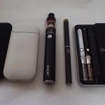 アイコス、プルームテック、電子タバコの使い分け減煙方法