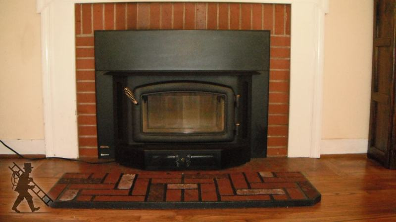 Large Of Modern Wood Burning Stove