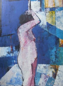 'Figure at Night' by Cormac O'Leary