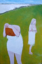 """Lissadel Bathers"" by Cormac O'Leary at the Chimera Gallery, Mullingar,Co Westmeath, Ireland"