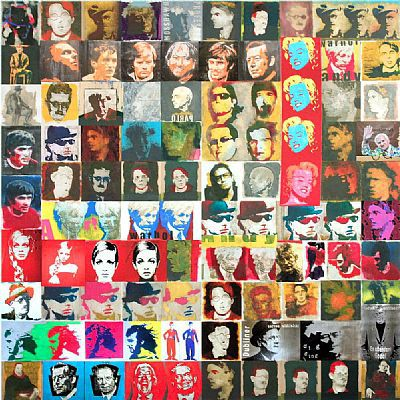 """A Thousand Faces"" by Jonathan Aiken at the Chimera Gallery, Mullingar, Co Westmeath, Ireland"