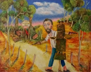 """Kelly at Glenrowan"" by Karl James"